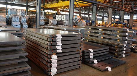 Steel customer dedicated inventories