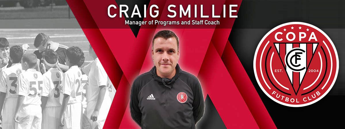 Craig Smillie Announcement