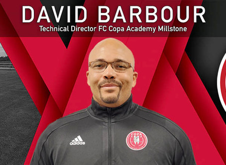 David Barbour Joins FC Copa as Technical Director