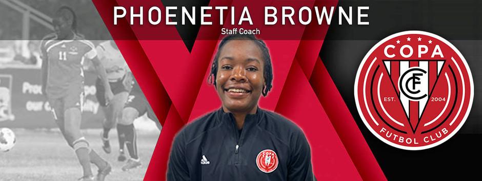 Phoenetia Browne Joins FC Copa