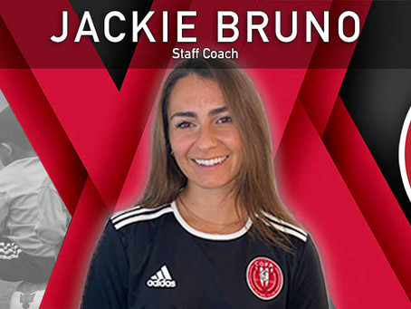FC Copa Hires Jackie Bruno as Staff Coach