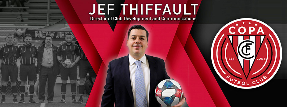 FC Copa Hires Jef Thiffault as Director of Club Development and Communications