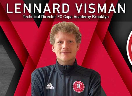 FC Copa Hires Lennard Visman As Technical Director At FC Copa - Brooklyn