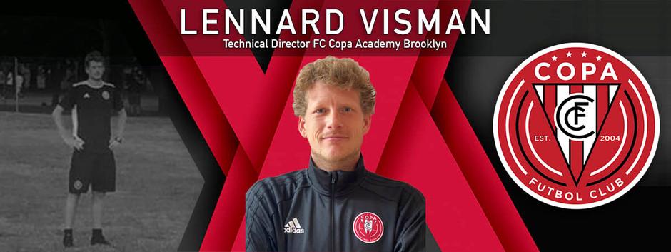 FC Copa Hires Lennard Visman As Technical Director At FC Copa - Brooklyn