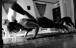 arm balances yoga class