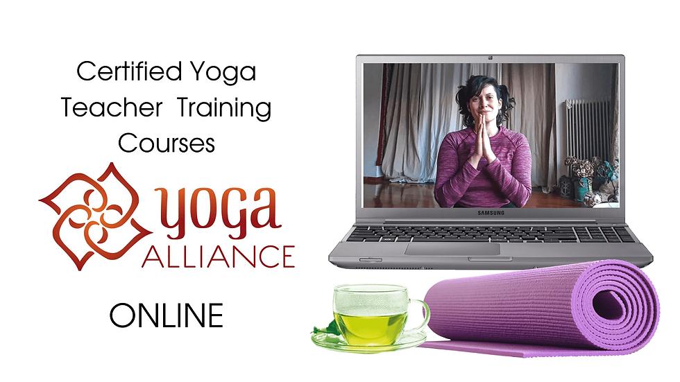 Yoga alliance certified online yoga teac
