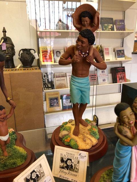 Riding High Figurine - Thomas Blackshear Collectible
