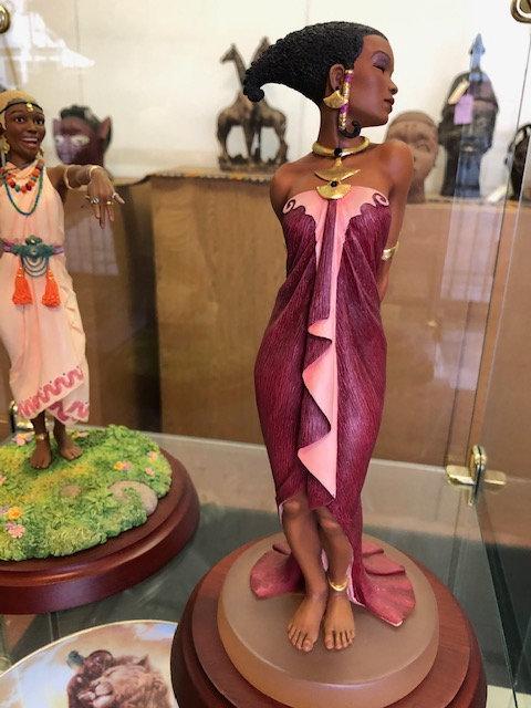 Evening Rose Figurine - Thomas Blackshear Collectible