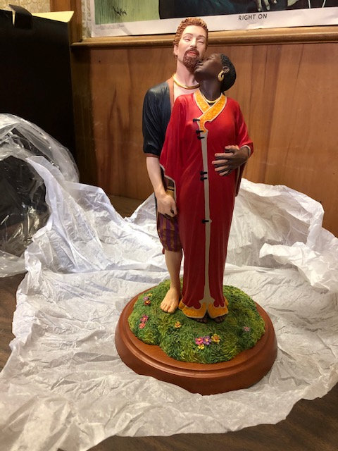 The Color of Love Figurine - Thomas Blackshear Collectible