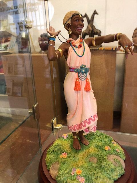 Bling Bling Figurine - Thomas Blackshear Collectible