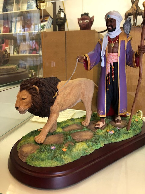 The African King Figurine - RARE - Thomas Blackshear Collectible