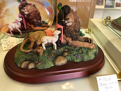 A Child Shall Lead Them Figurine - Thomas Blackshear Collectible