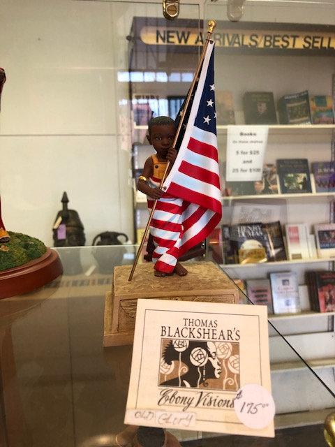 Old Glory Figurine - Thomas Blackshear Collectible