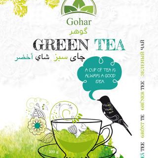 Gohar Green Tea 500 g front