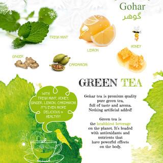 Gohar Green Tea back