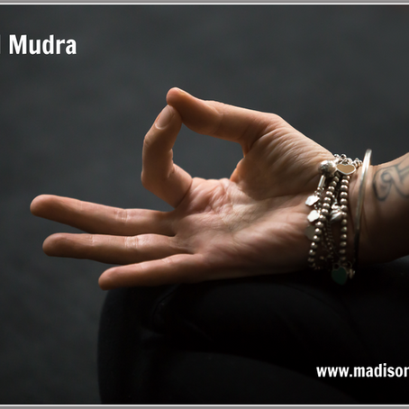 METAL MUDRA pose - let go and come into the moment