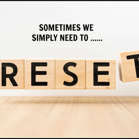 DO YOU NEED TO RESET?