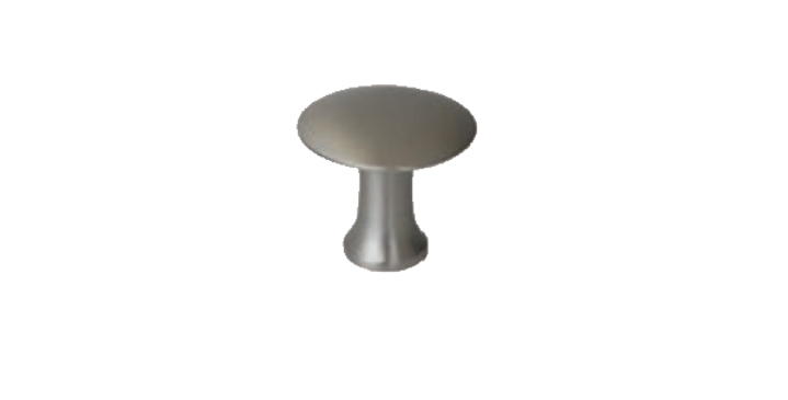 Metal knob handle 130