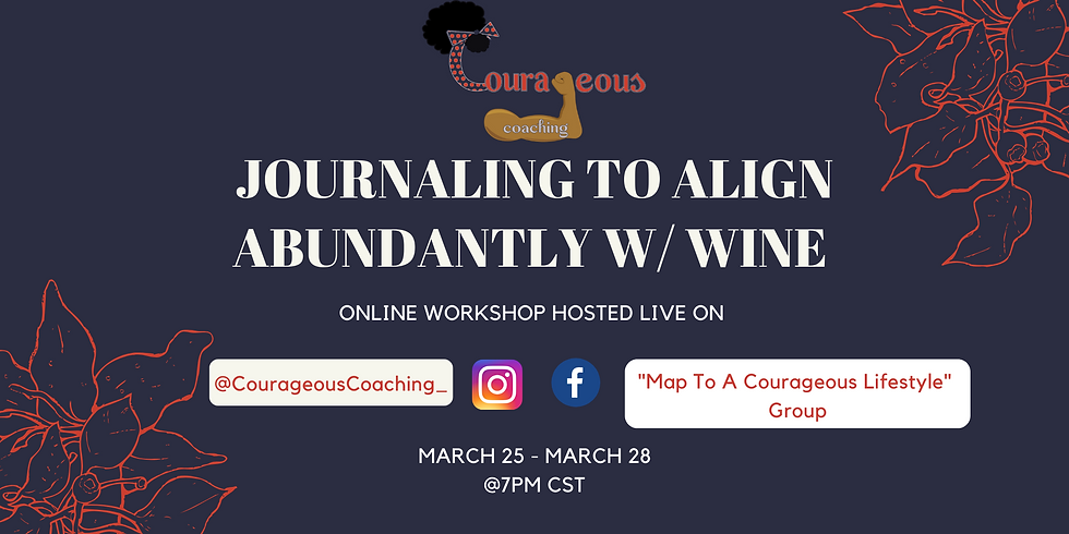 Journaling To Align Abundantly with Wine