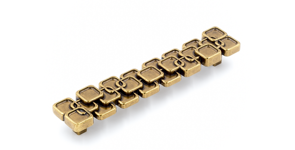 Seventy Brass Handle Gold Color