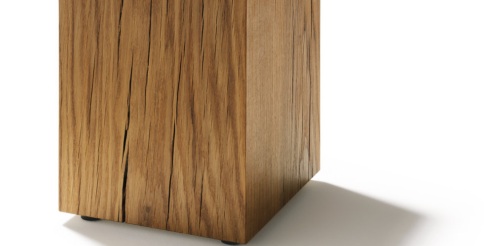 Solid wood trunk block by Team 7