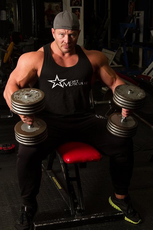 Most Muscular mens vest