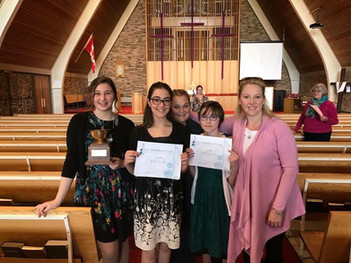 Kiwanis Music Competition 2018