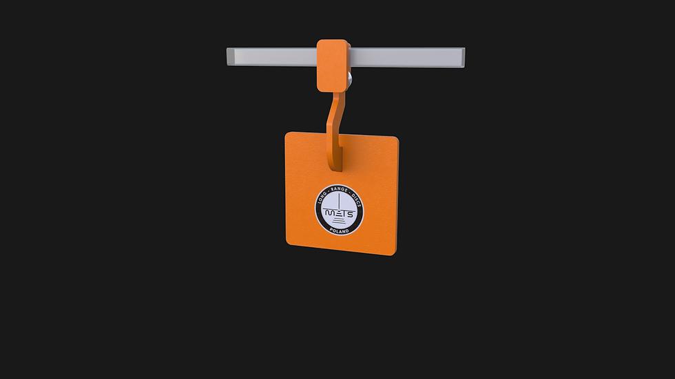 Gong SSG kwadratowy 200mm