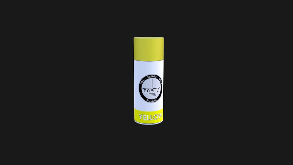Farba w sprayu - kolor żółty