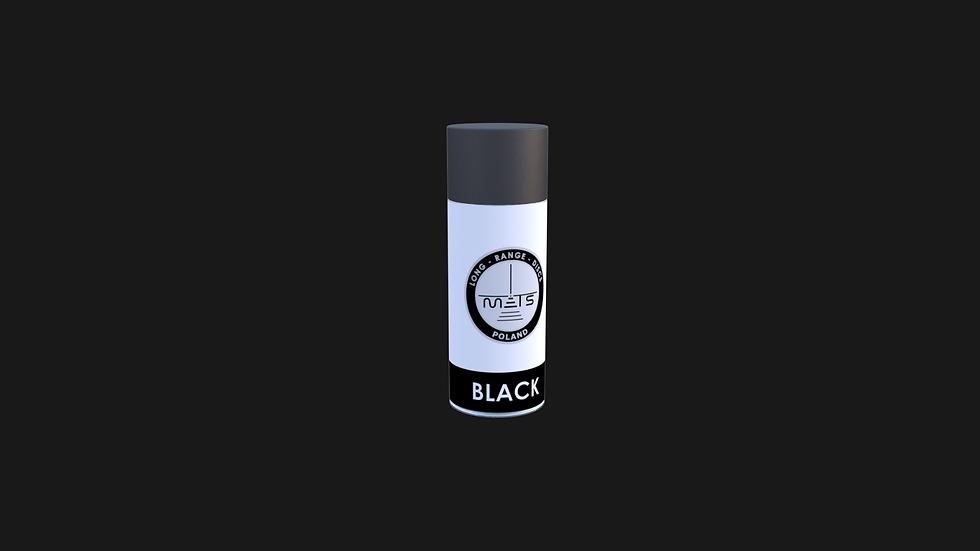Farba w sprayu - kolor czarny
