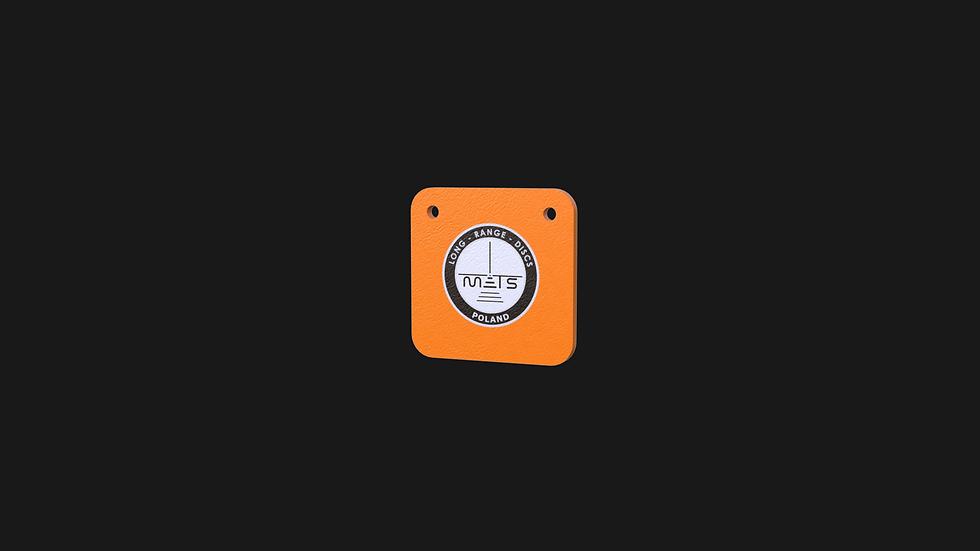 Gong kwadratowy 150mm z otworami fi 11mm