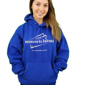 Immortal Seats Light Blue Hoodie