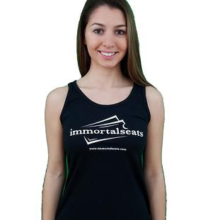 Immortal Seats Racer Back Black