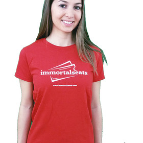 Immortal Seats Female Shirt Full Sleeve Red