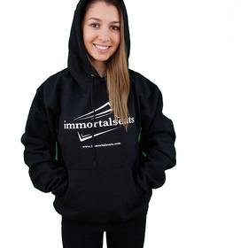 Immortal Seats Black Hoodie