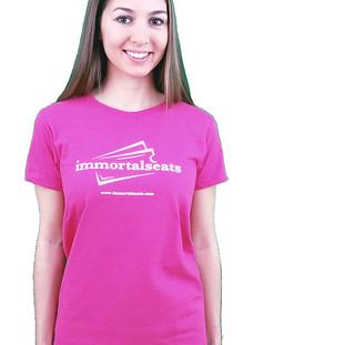 Immortal Seats Pink Full Sleeve Female Shirt