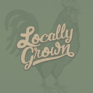 Locally Grown text