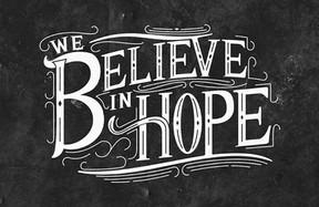 We Believe in Hope Sermon Graphic