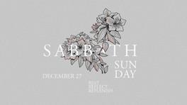 Sabbath Sunday