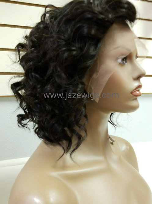 """10"""" Lace Front Curly Bob"""