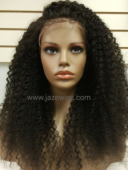 """20"""" Lace Front Kinky Curly 300"""