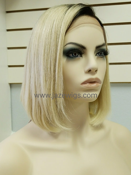 "10"" Lace Front Bob JazeN54 dark root"