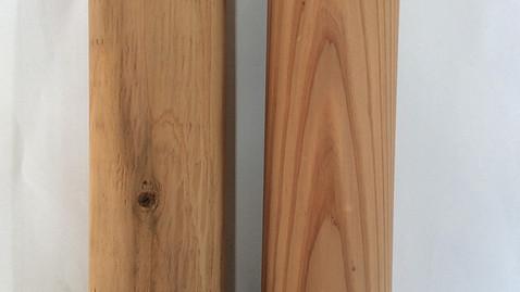 木製パーテーション部材