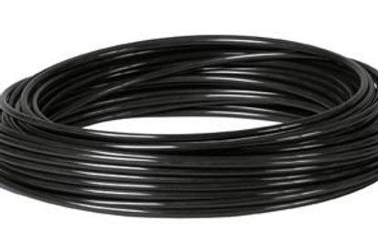 Metric Polyurethane Tube Black 100m Coil