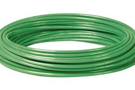 Metric Polyurethane Tube Green 100m Coil