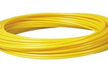 Metric Polyurethane Tube Yellow 25m Coil