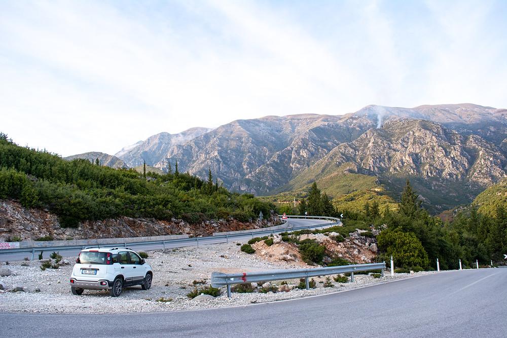 Albania Llogara pass