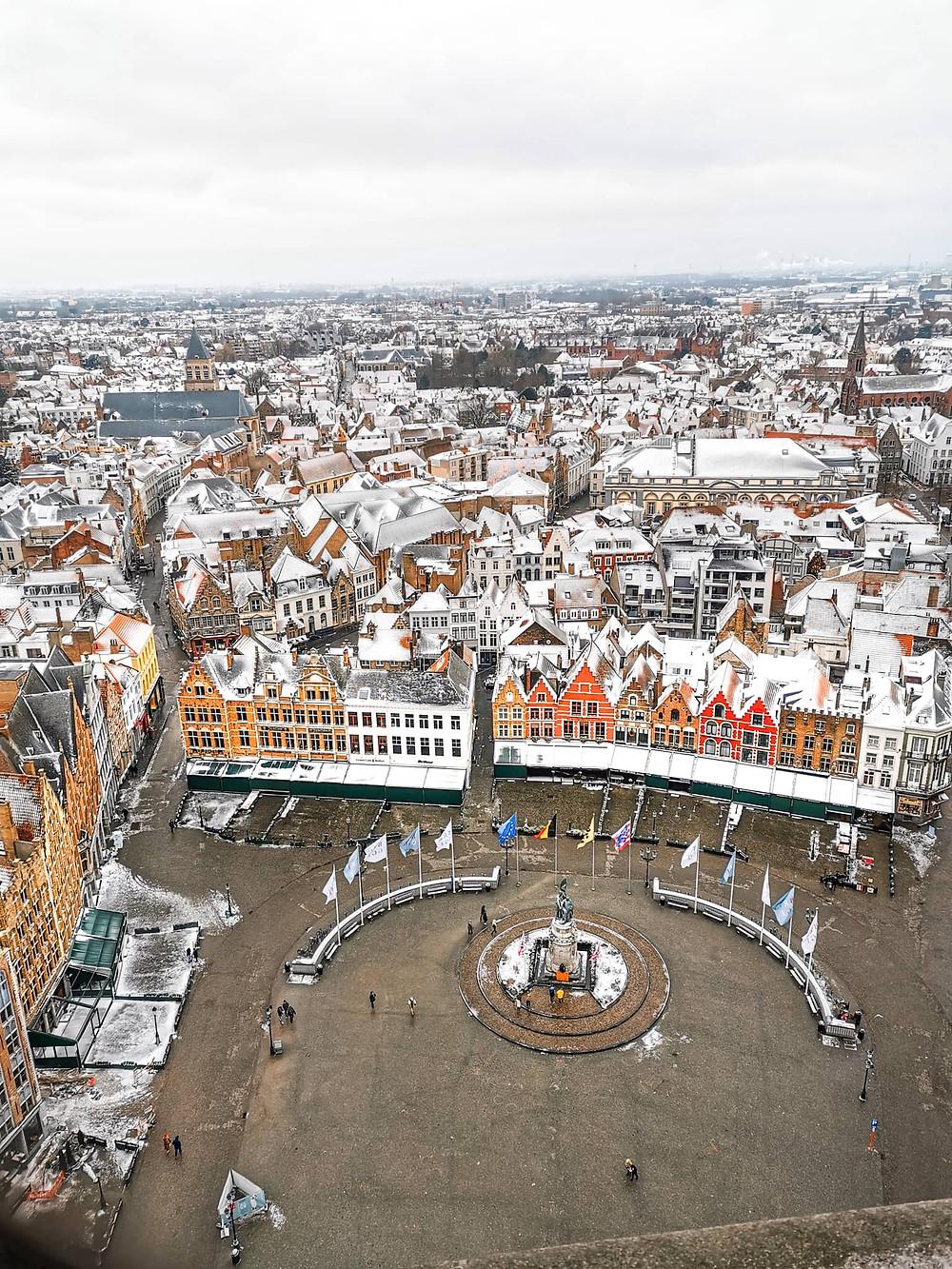 Viewpoint Belfry of Bruges