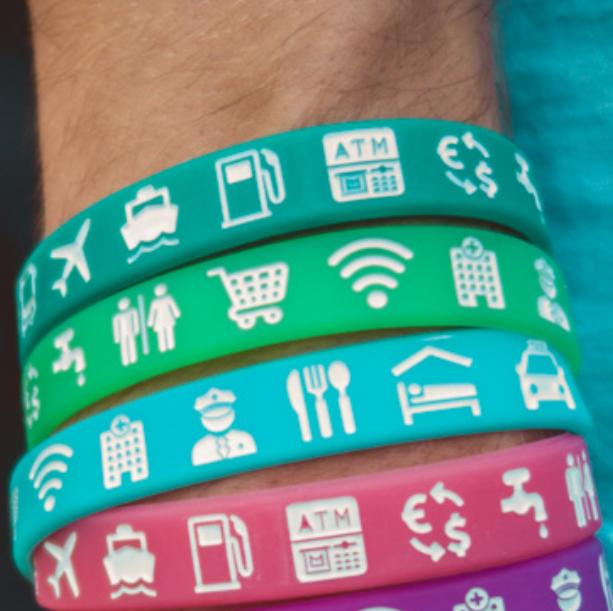 travel bracelet ikgaopavontuur.nl