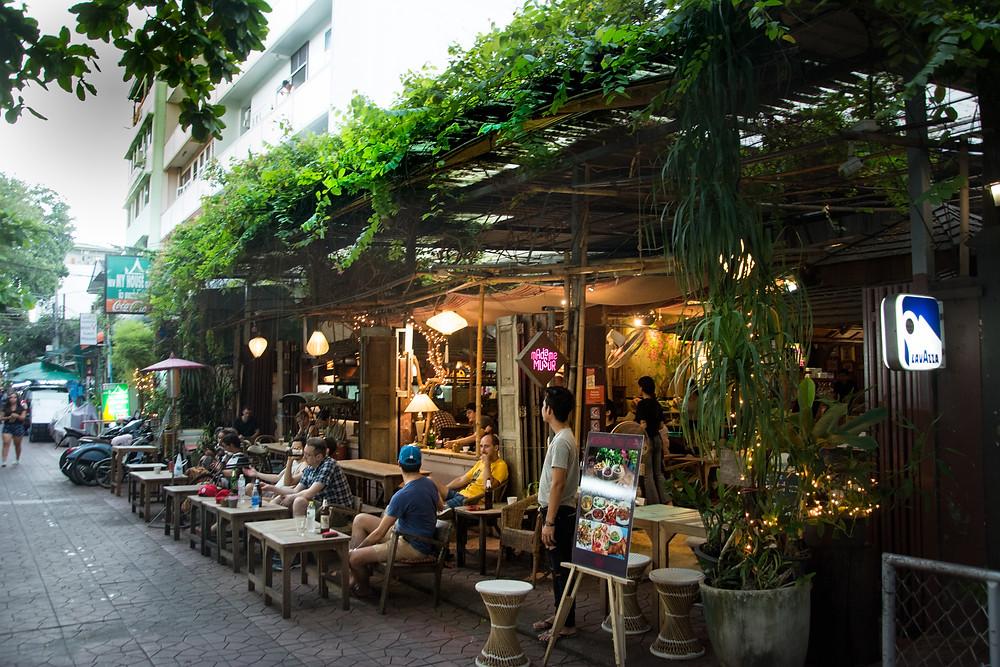 Local restaurant in Thailand
